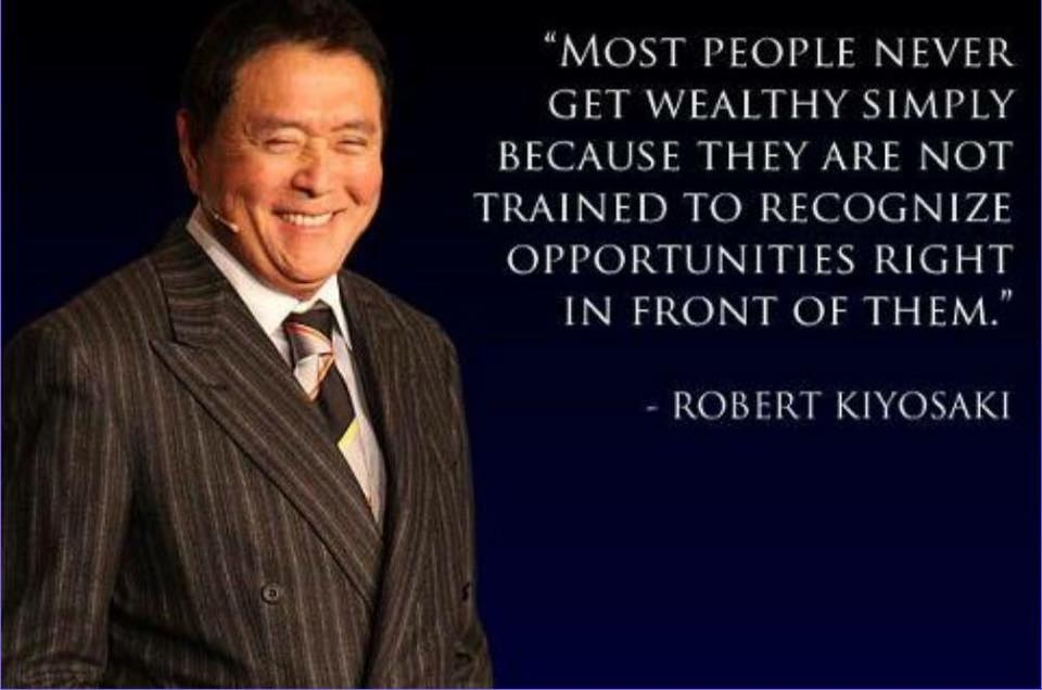 Robert Kioysaki quote on wealth