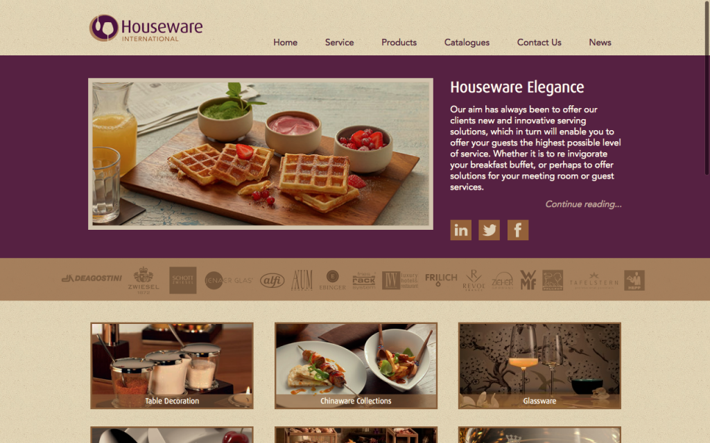 Houseware International Website